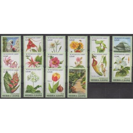 Sierra Leone - 1991 - No 1350/1365 - Fleurs