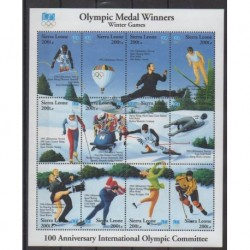 Sierra Leone - 1994 - Nb 1897/1908 - Winter Olympics