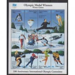 Sierra Leone - 1994 - No 1897/1908 - Jeux olympiques d'hiver