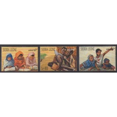 Sierra Leone - 1996 - No 2198/2200 - Enfance
