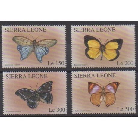 Sierra Leone - 1996 - No 2265/2268 - Insectes