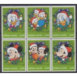 Sierra Leone - 1997 - Nb 2429/2434 - Walt Disney