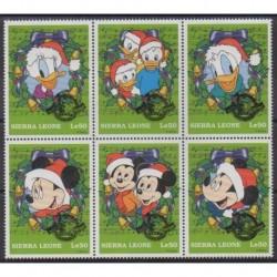 Sierra Leone - 1995 - Nb 2521/2526 - Walt Disney