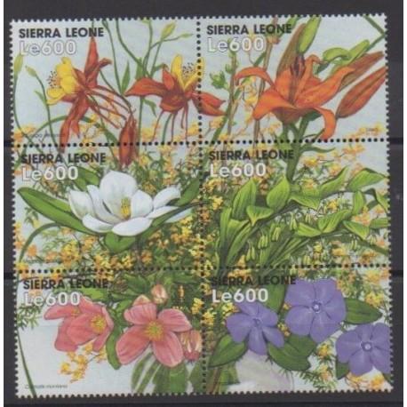 Sierra Leone - 1999 - No 2648/2653 - Fleurs