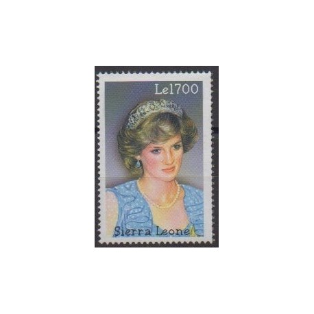 Sierra Leone - 2002 - No 3615 - Royauté - Principauté