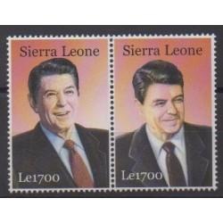 Sierra Leone - 2003 - No 3663/3664 - Célébrités