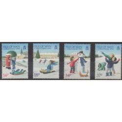 Man (Ile de) - 1990 - No 477/480 - Noël