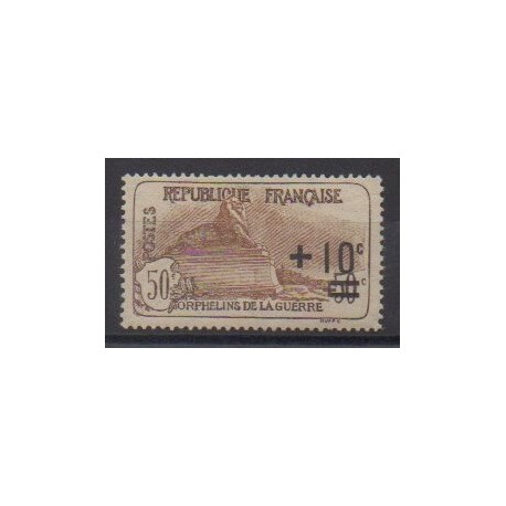 France - Poste - 1922 - No 167