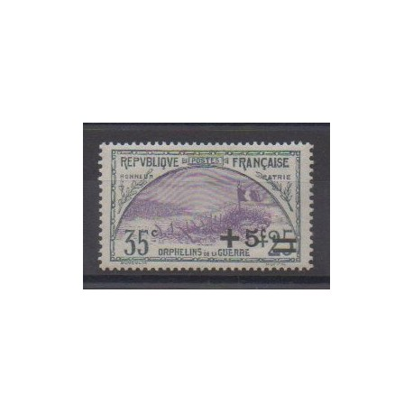 France - Poste - 1922 - No 166