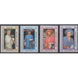 Antigua and Barbuda - 1990 - Nb 1265/1268 - Royalty