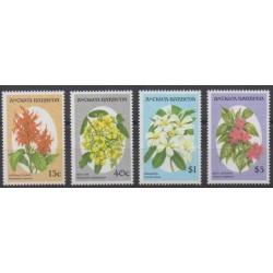 Antigua and Barbuda - 1993 - Nb 1584/1587 - Flowers