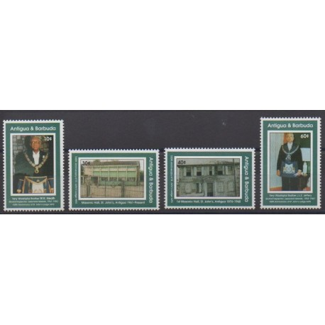 Antigua et Barbuda - 1993 - No 1614/1617