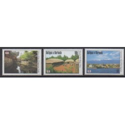 Antigua et Barbuda - 1994 - No 1737/1739 - Sites - Philatélie