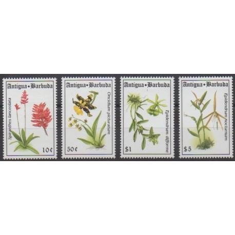 Antigua et Barbuda - 1994 - No 1714/1717 - Orchidées