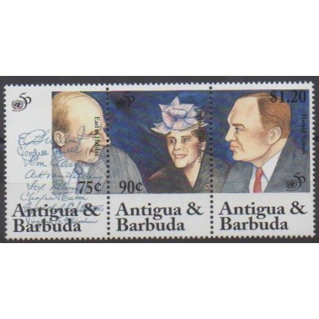 Antigua et Barbuda - 1995 - No 1856/1858 - Nations unies