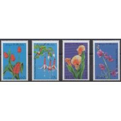 Antigua and Barbuda - 1999 - Nb 2548/2551 - Flowers