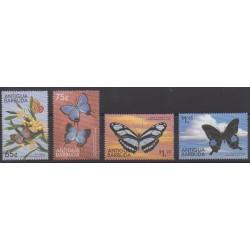 Antigua et Barbuda - 1999 - No 2609/2612 - Insectes