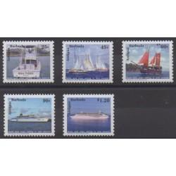 Antigua and Barbuda - 1999 - Nb 2595/2599 - Boats