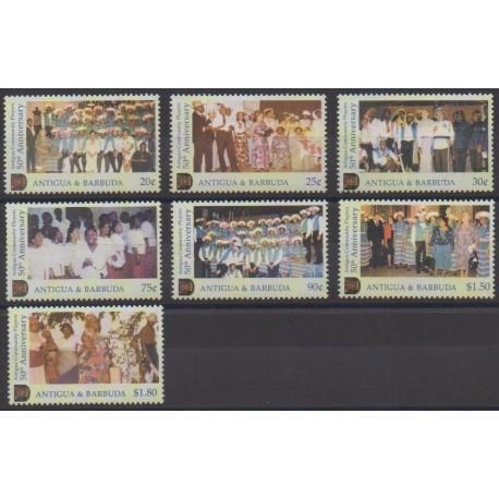 Antigua et Barbuda - 2002 - No 3192/3198 - Musique