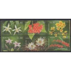 Antigua and Barbuda - 2002 - Nb 3222/3227 - Flowers