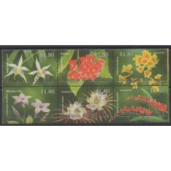 Antigua et Barbuda - 2002 - No 3222/3227 - Fleurs