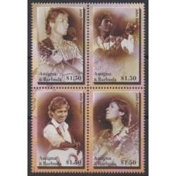 Antigua and Barbuda - 2004 - Nb 3566/3569 - Music