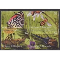Antigua et Barbuda - 2005 - No 3599/3602 - Insectes