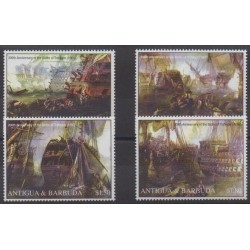 Antigua and Barbuda - 2005 - Nb 3616/3619 - Military history - Boats