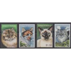 Antigua and Barbuda - 2005 - Nb 3635/3638 - Cats