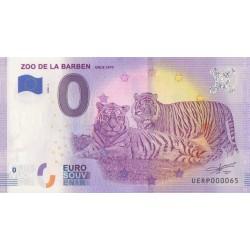 Euro banknote memory - 13 - Zoo de la Barben - 2020-1 - Nb 65
