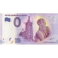Euro banknote memory - 13 - Notre-Dame-de-la-Garde et l'ange - 2017-2