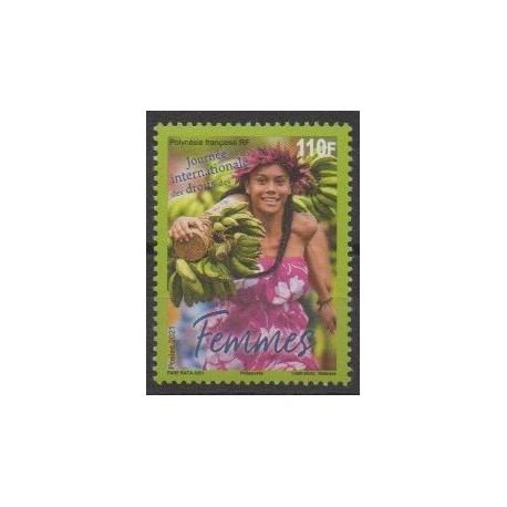 Polynésie - 2021 - No 1261 - Journée des droits des femmes