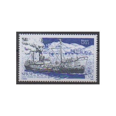 Saint-Pierre et Miquelon - 2021 - No 1260 - Navigation