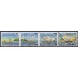 Wallis et Futuna - 2021 - No 936/939 - Navigation - Les pirogues anciennes