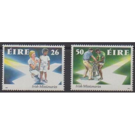 Irlande - 1990 - No 723/724