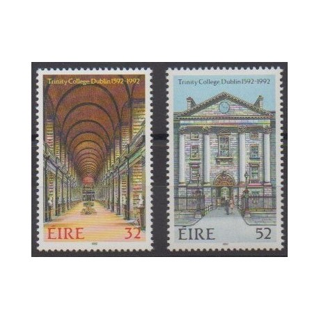 Irlande - 1992 - No 805/806 - Monuments