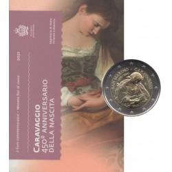 2 euro commémorative - San Marino - 2021 - 450th anniversary of the birth of Caravaggio - BU