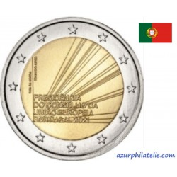 2 euro commémorative - Portugal - 2021 - Portuguese Presidency of the Council of the European Union - UNC