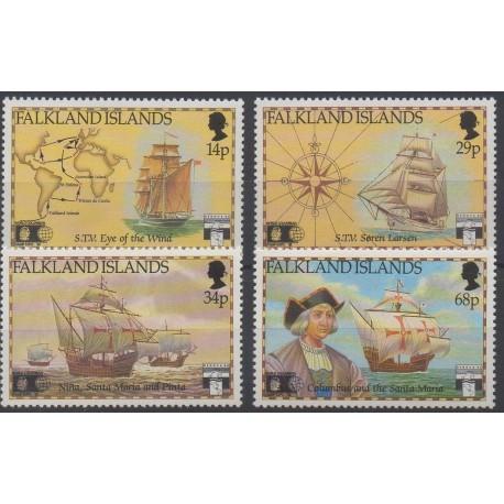 Falkland - 1991 - No 563/566 - Bateaux