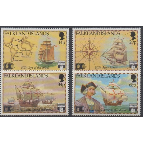 Falkland - 1991 - Nb 563/566 - Boats