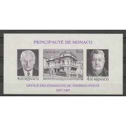 Monaco - Blocks and sheets - 1987 - Nb BF 39a