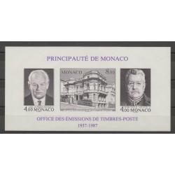 Monaco - Blocs et feuillets - 1987 - No BF 39a