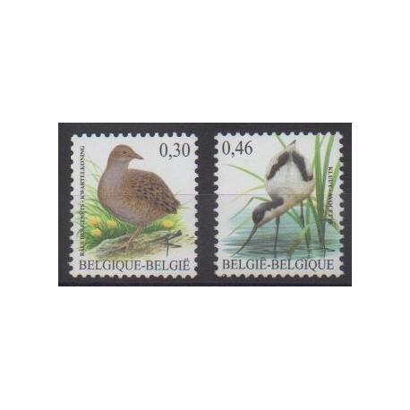 Belgique - 2006 - No 3463/3464 - Oiseaux