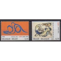 Belgique - 2006 - No 3548/3549 - Peinture