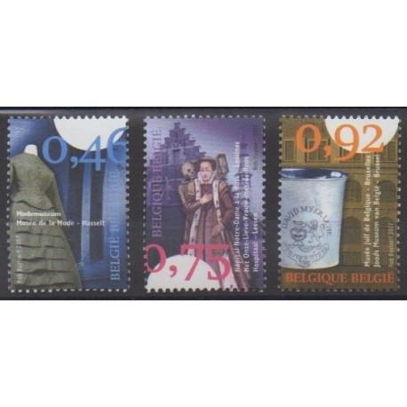 Belgique - 2007 - No 3645/3647