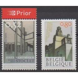 Belgium - 2007 - Nb 3613/3614 - Architecture