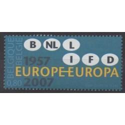 Belgium - 2007 - Nb 3618 - Europe