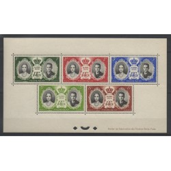 Monaco - Blocs et feuillets - 1956 - No BF 5