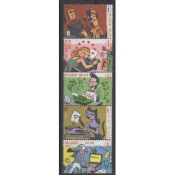 Belgium - 2007 - Nb 3691/3695 - Philately
