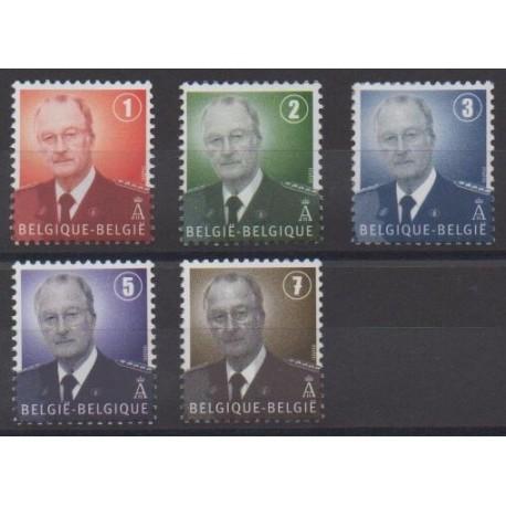 Belgique - 2007 - No 3667/3671